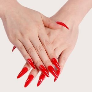 ‼️❤️🆕 Red Stiletto Long PRESS ON NAIL